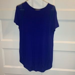 Limited royal blue top